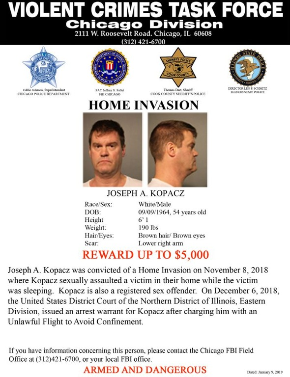 Home Invasion Suspect
