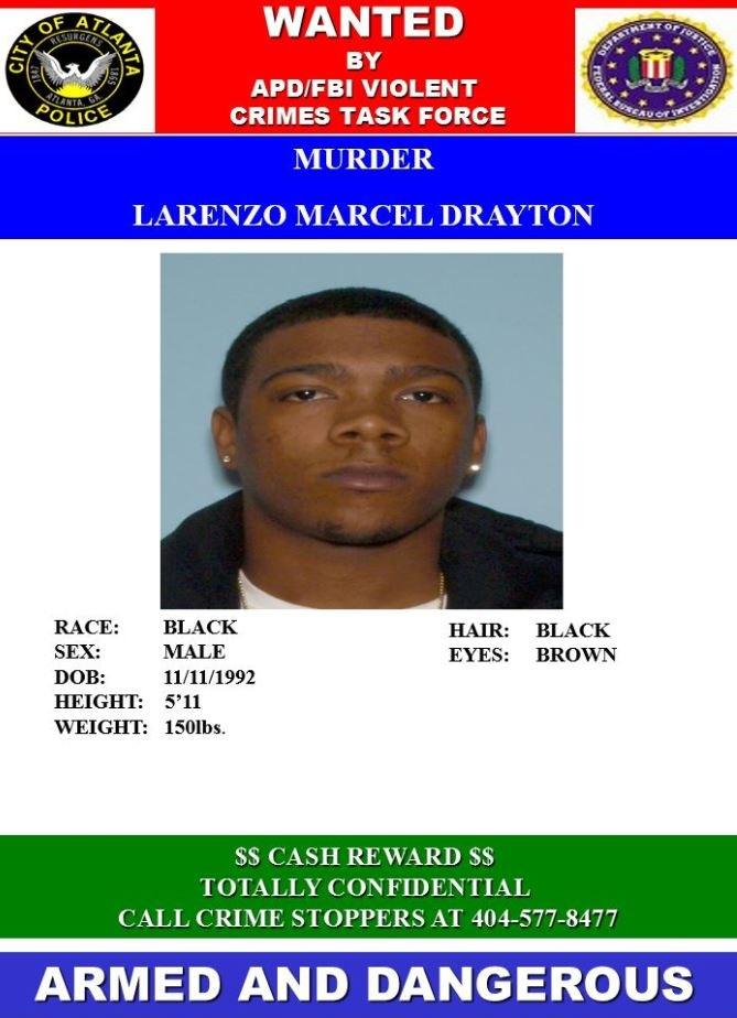 Larenzo Drayton Wanted Poster