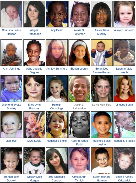 In observance of National Missing Children's Day on Sunday, May 25, 2014—which honors the memories of those who are lost and focuses attention on the issue—the FBI is highlighting the names and faces of the children listed on our Kidnappings and Missing Persons webpage and asking for your continued help to locate them.