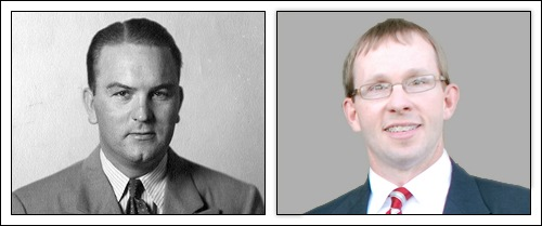 Special Agent Fred Tillman and FBI's legat Gib Wilson