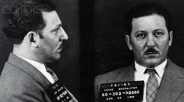 Shortly after he surrendered on August 24, 1939, Louis Buchalter was sentenced to prison on antitrust and narcotics charges. He was later tried and convicted on a state charge of murder. On March 4, 1944, he was executed at Sing Sing Prison.