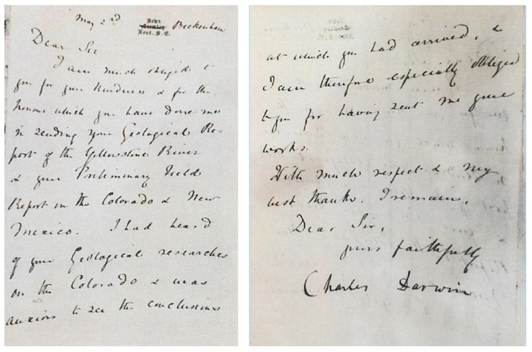 A letter by Charles Darwin that was stolen more than 30 years ago was recovered by the FBI's Art Crime Team and returned to the Smithsonian on May 26, 2016.
