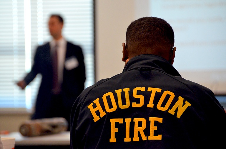 "The exercise in Houston brought together agencies from the federal, state, and local levels, including the Department of Homeland Security and the Drug Enforcement Agency. ""Any time you get face time with your partners, it's going to benefit you,"" said one of the participants."