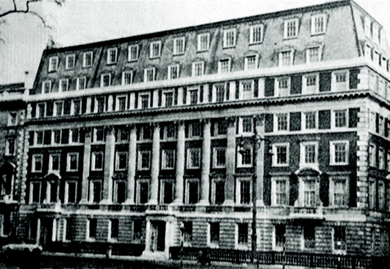 Historic Photo of U.S. Embassy in London