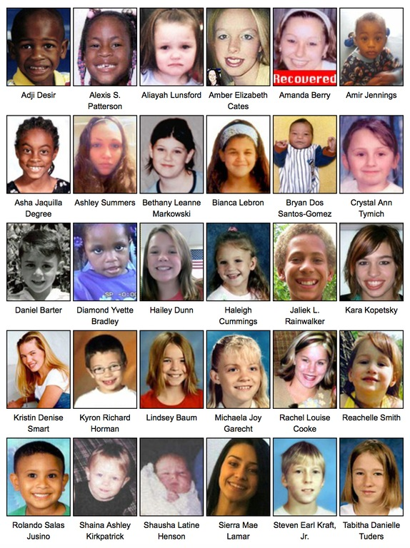 The FBI asks for the public's help in finding missing kids on National Missing Children's Day 2012.