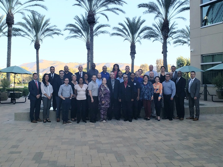 Class photo of the 2019 Citizens Academy held in Riverside, California