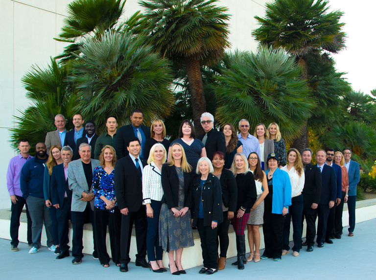 Class photo of the 2019 Citizens Academy held in Westwood, California