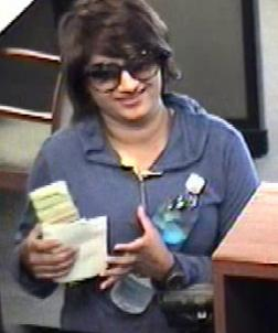 Valencia, California Bombshell Bandit, Photo 2 of 3 (7/3/14)