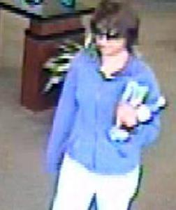 Valencia, California Bombshell Bandit, Photo 3 of 3 (7/3/14)