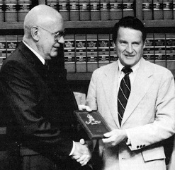 Following the brave efforts of auto dealer Lou Peters to help the FBI take down a major organized crime figure in Sacramento, the Society of Former Special Agents of the FBI began presenting an annual Louis E. Peters Memorial Award to private citizens who selflessly dedicate their time and service to assist the Bureau in uncovering wrongdoing.