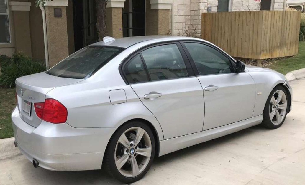 2006 silver BMW 300 possibly associated with suspected serial sexual predator Luann Hida.