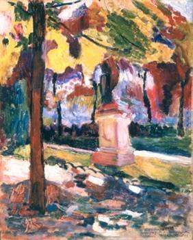Henri Matisse, 1905, Luxembourg Garden