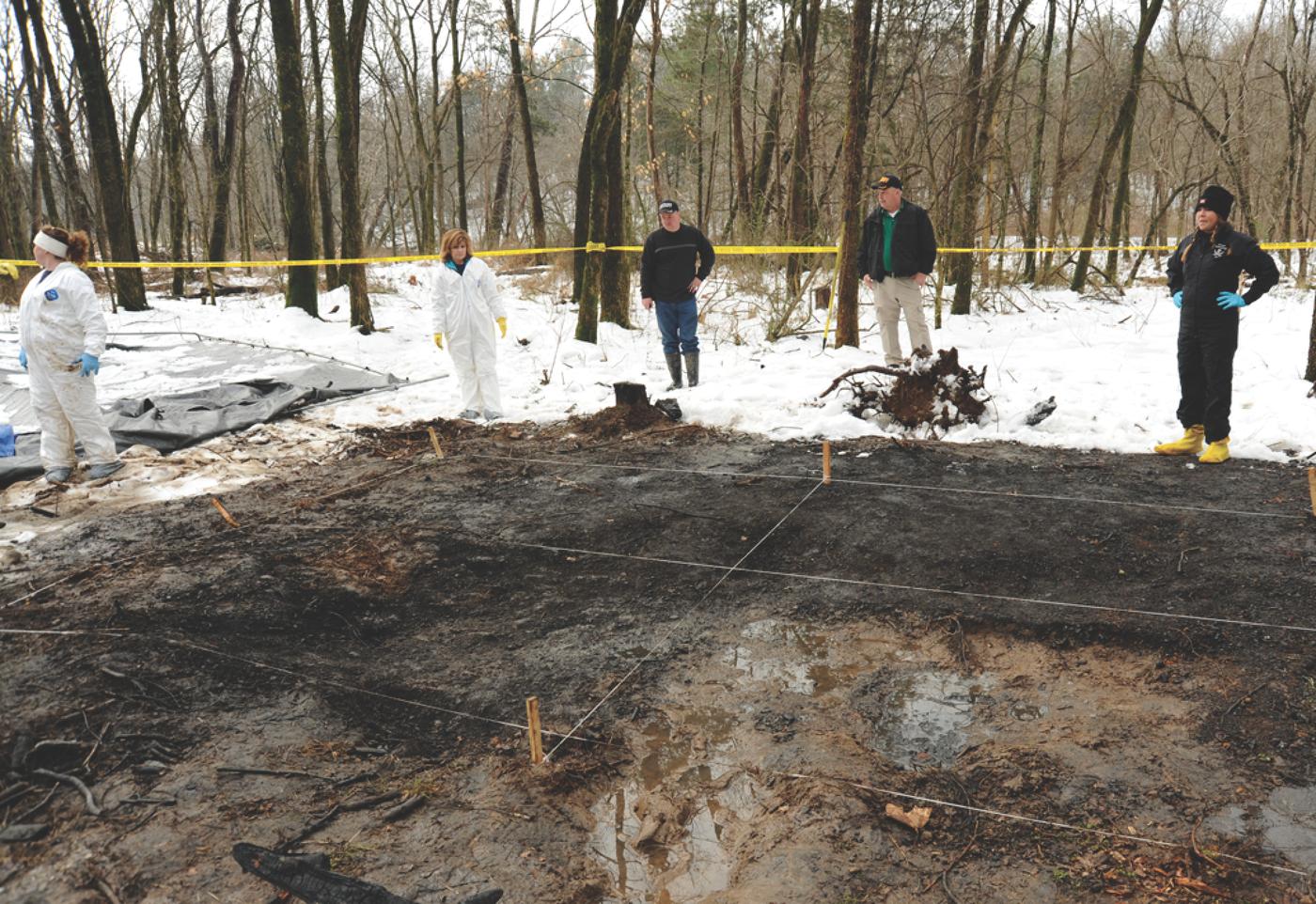 Crime Scene in Rose Goggins Murder Case in Tennessee