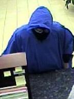 Miami Lakes, Florida Bank Robbery Suspect, Photo 3 of 7 (5/16/14)