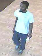 Homestead, Florida Bank Robbery Suspect, Photo 3 of 3 (6/11/14)