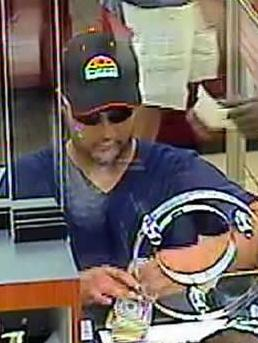 Ft. Lauderdale, Florida Bank Robbery Suspect, Photo 3 of 3 (5/24/14)