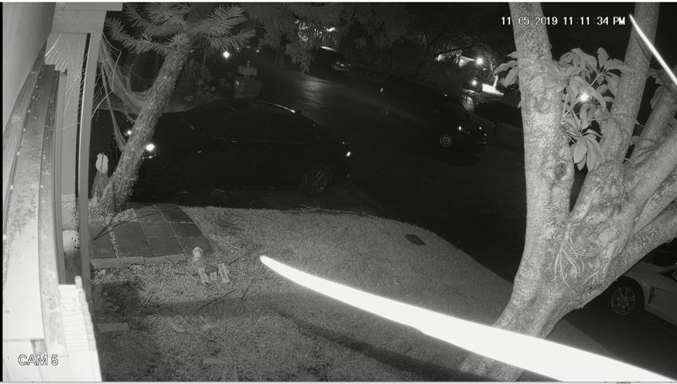 Suspects' Minivan