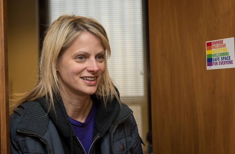 Beth Holger-Ambrose, executive director of The Link in Minneapolis, which serves young people who have been sexually exploited.