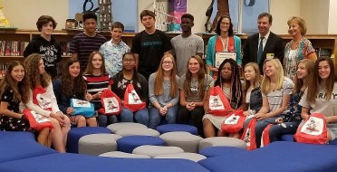 New Kent Middle School Students Win FBI Safe Online Surfing Internet Challenge