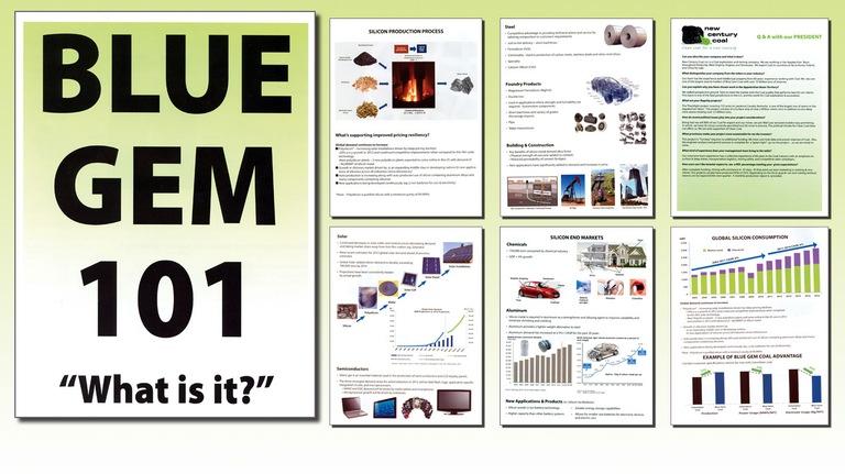 New Century Coal Marketing Materials