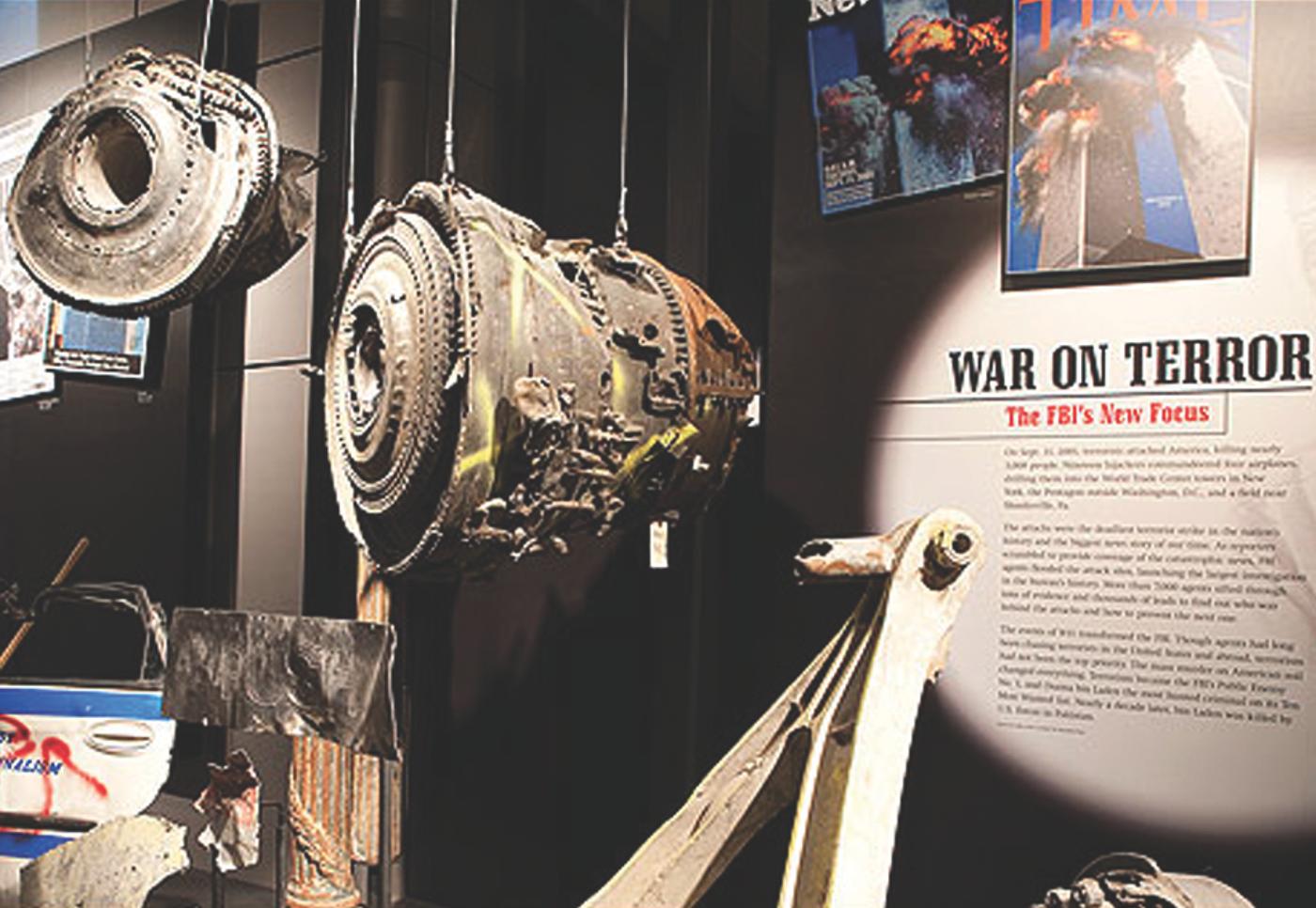 Newseum War on Terror Exhibit