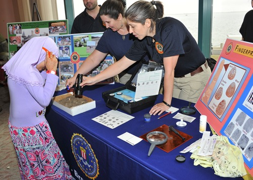 On Saturday, May 9, 2015, the FBI's New York Field Office, along with 18 other law enforcement organizations, hosted the Fifth Annual Muslim Youth Career Day at Kingsborough Community College in Brooklyn.