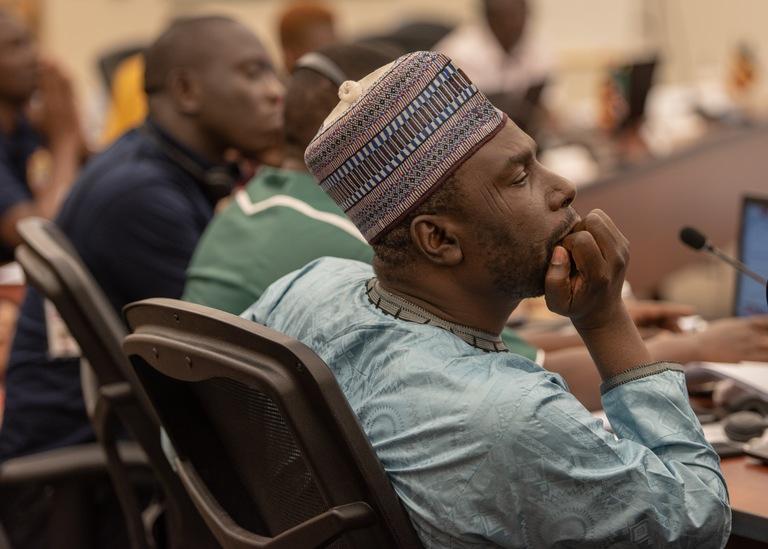 Nigerian Delegate at ILEA Roswell