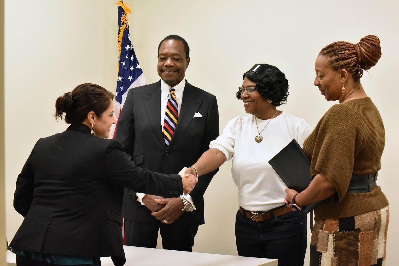 FBI Norfolk 2019 Director's Community Leadership Award recipient, Hampton Roads Diversity and Inclusion Consortium.