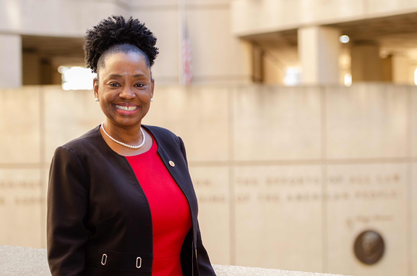 Assistant Director A. Tonya Odom served as the FBI's first chief diversity officer.