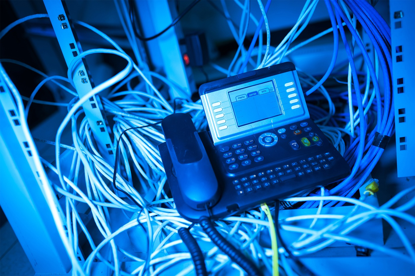Office Telephone (Stock Image)