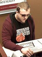 Oklahoma City Bank Robbery Suspect, Photo 17 of 17 (4/23/14)