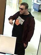 Oklahoma City Bank Robbery Suspect, Photo 8 of 17 (4/23/14)