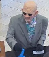 Suspect in Moore Bank Robbery, Photo 2 of 3 (6/17/14)