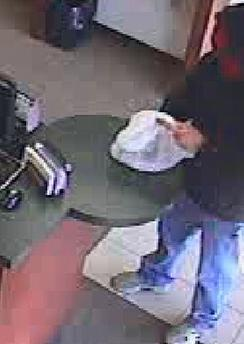Suspect in Oklahoma City Bank Robbery, Photo 2 of 7 (5/1/14)