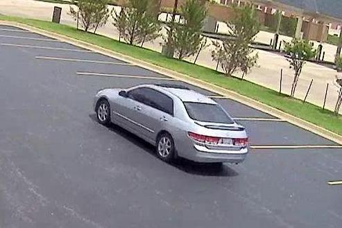 Suspect's Vehicle in Moore Bank Robbery, Photo 3 of 3 (6/17/14)