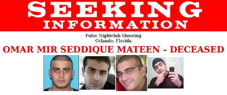 Seeking information poster for Omar Mateen.