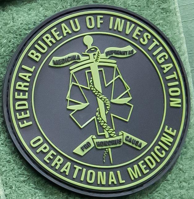 FBI Operational Medicine Patch