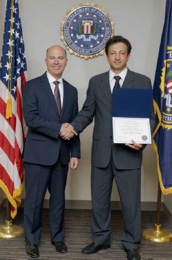 Mesut Inci, Pacifica Institute and FBI SAC Eric Birnbaum