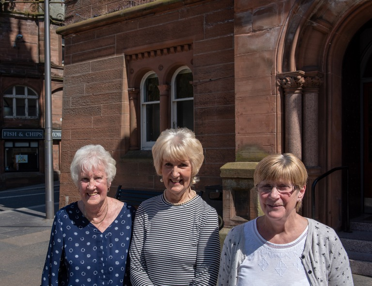 Lockerbie, Scotland, residents Moira Shearer, Josephine Donaldson, and Elma Pringle were part of a volunteer group known as the laundry ladies after the December 21, 1988 bombing of Pan Am Flight 103.