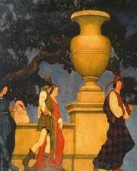 Gertrude Vanderbilt Whitney Mural, Panel 3B