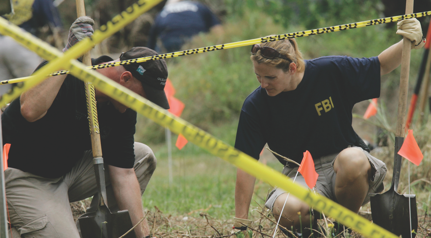 FBI and its Partners Investigate (AP Photo)