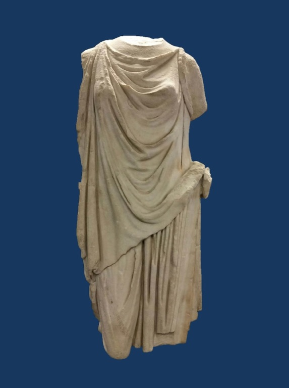 Torlonia Peplophoros is a Roman marble peplophoros statue that was stolen on November 11, 1983, from Villa Torlonia, a historic residence owned by the Municipality of Rome, Italy. The FBI returned it to Italy in 2016.