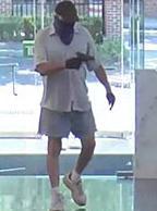 Hatboro, Pennsylvania Bank Robbery Suspect, Photo 4 of 5 (7/25/14)