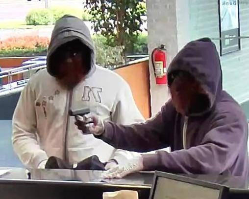Southampton, Pennsylvania Bank Robbery Suspects, Photo 2 of 3 (5/13/14)
