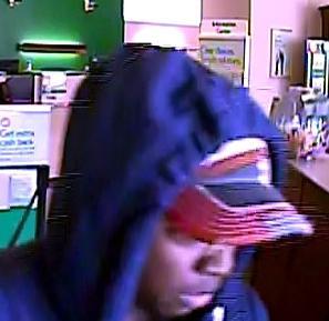 Philadelphia Bank Robbery Suspect, Photo 3 of 5 (5/22/14)