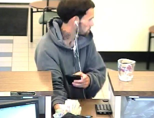 Philadelphia Bank Robbery Suspect, Photo 3 of 4 (5/29/14)