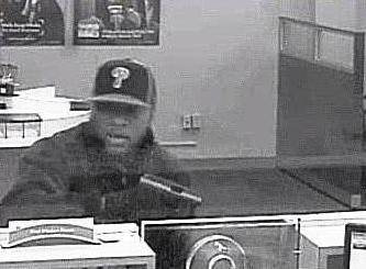 Pottstown, Pennsylvania Bank Robbery Suspect, Photo 6 of 7 (5/31/14)