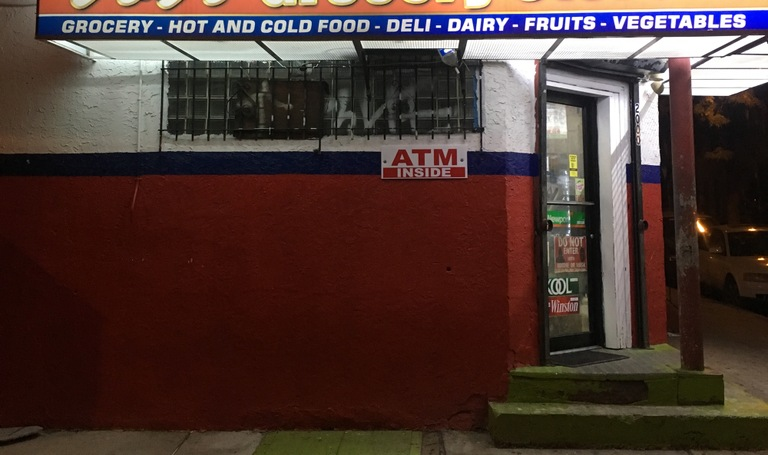 Corner store in Philadelphia that was robbed by Koren Jones during a violent two-day crime spree in November 2016.