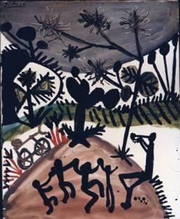 Pablo Picasso, 1956, Dance