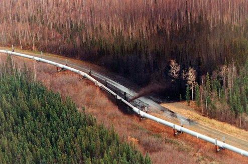 Hole in Alaska Pipeline
